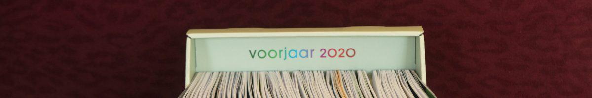 Cahiers Voorjaar 2020